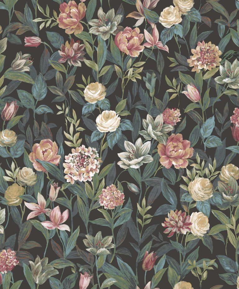 Bloemen Behang